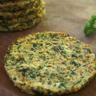 Paleo Cauliflower and Spinach Breakfast Bread.
