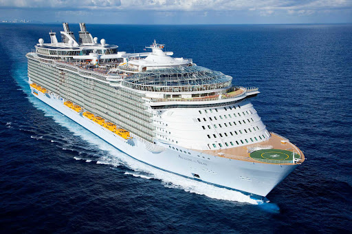 "Allure of the Seas offers seven districts or ""neighborhoods"" full of distinctive features, several entertainment options and 25 different dining options for guests."