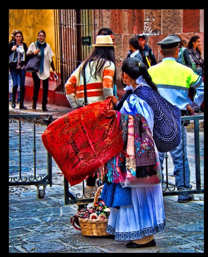 san miguel de allende, mexico by Jim Knoch - City,  Street & Park  Street Scenes