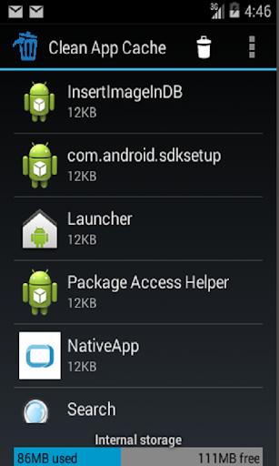 Clean App Cache 1.0 screenshots {n} 2