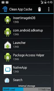 Clean App Cache screenshot