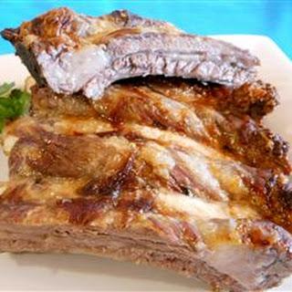 Brazilian-Style Beef Ribs.