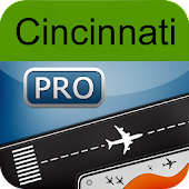 Cincinnati Airport+FlightTrack