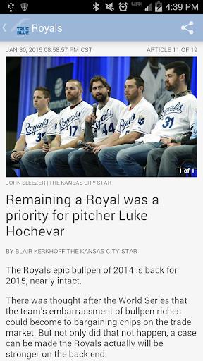 True Blue – Royals Baseball