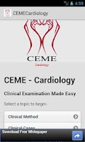 Screenshot of CEME Physical Examination
