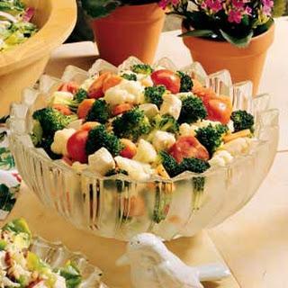 Broccoli-Cauliflower Toss.