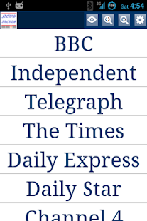 UK News Alerts - náhled