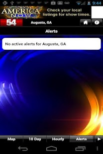 WFXG First Alert Weather - screenshot thumbnail