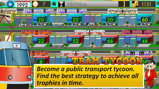 Tram Tycoon Lite - 全員輸送せよ