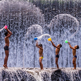 by Zaenal Arifin - Babies & Children Children Candids ( kids playing in summer, kids in summer )