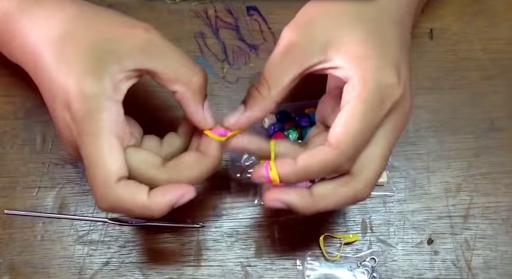 bracelet rubber bands DIY