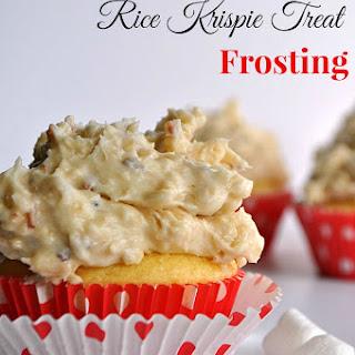 Samoa Rice Krispie Treat Frosting