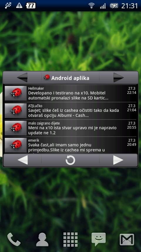 BugDroid- screenshot