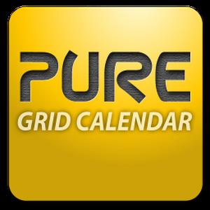 Pure Grid calendar widget v2.6.1 Apk Full App