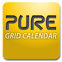 Pure Grid calendar widget