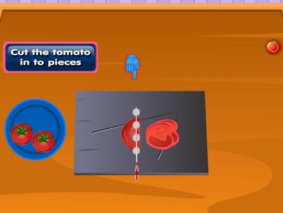 番茄意大利面烹飪遊戲