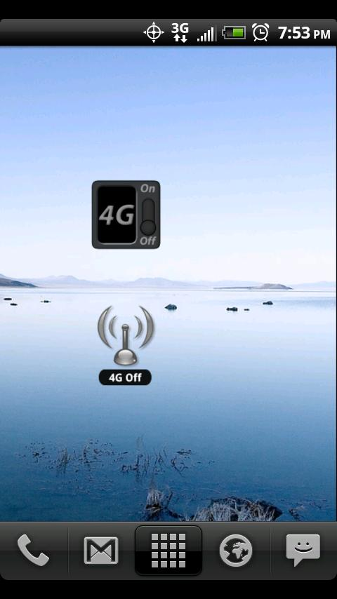 4G Toggle for EVO - screenshot