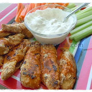 Healthy Boneless Wings.