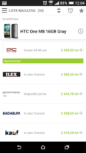 price.ro- screenshot thumbnail