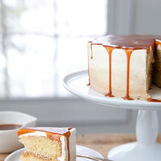 Vanilla Caramel Latte Cake Recipe