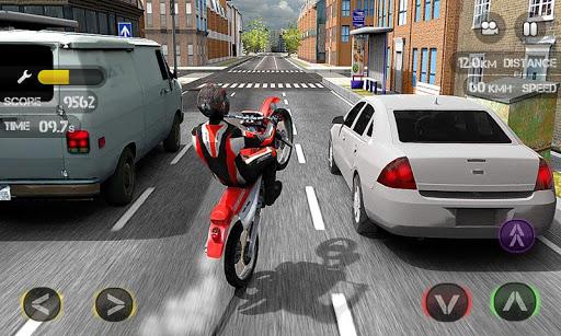 Race the Traffic Moto Screenshot