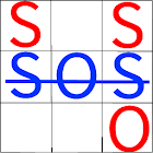 SOS Game - Classic Strategy Board Games icon