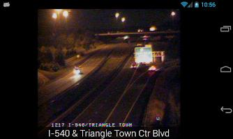 Screenshot of NC Traffic Cameras