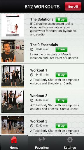 B12 Workout