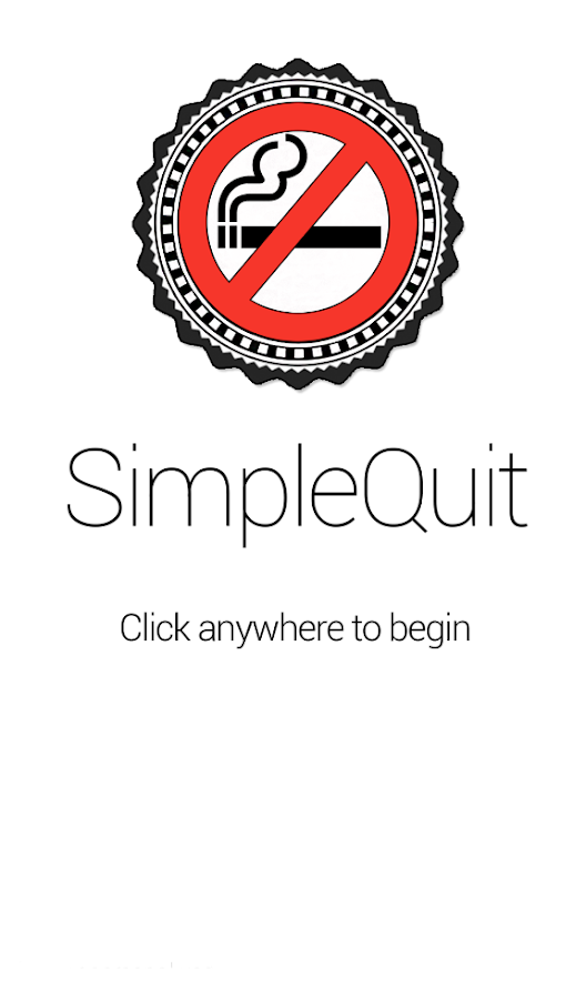 SimpleQuit: Quit Smoking App- screenshot