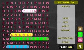 Screenshot of Word Search 2