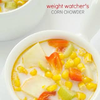 Weight Watcher's Corn Chowder.