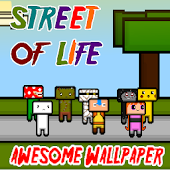 Street of Life - HD Wallpaper
