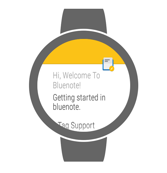 Bluenote - notes and lists- screenshot
