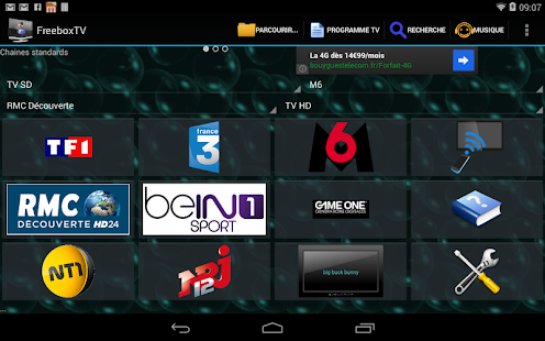 Freebox TV - screenshot thumbnail