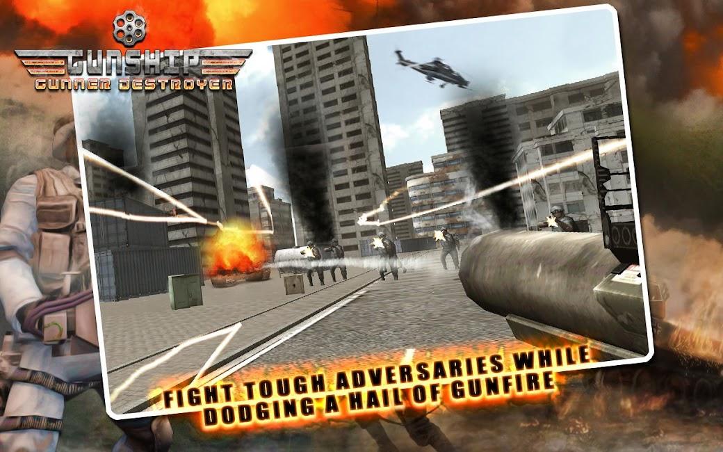 #1. Gunship Gunner Destroyer (Android)
