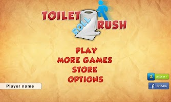 Screenshot of Toilet Roll Rush
