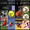 Kids Math and Sports Free icon