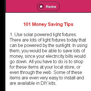 Money Saving Tips Free Tips