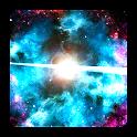 Galáxias profundas HD de luxo icon
