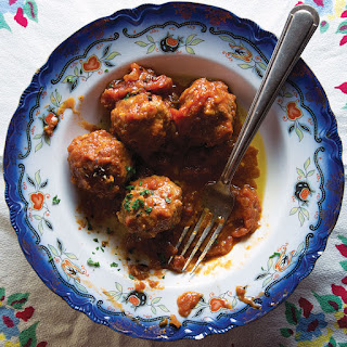 Sweet and Sour Potted Meatballs.