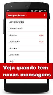 Mensagens Prontas p/ celular - screenshot thumbnail