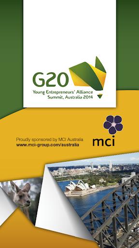 G20 YEA Summit 2014