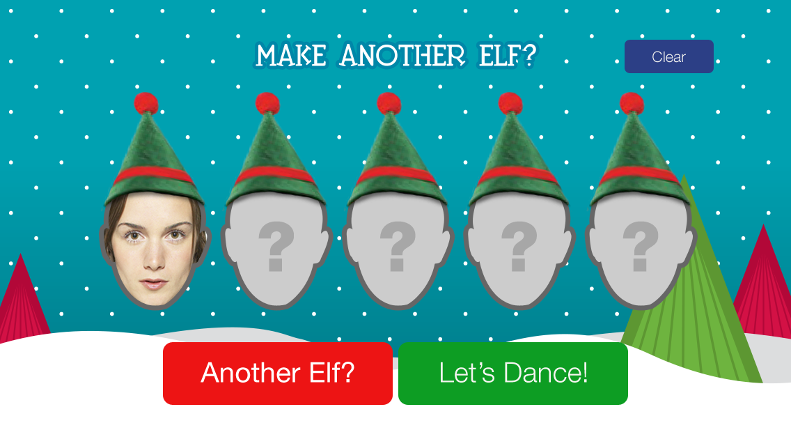 ElfYourself by Office Depot - screenshot