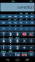 Screenshot of Free Scientific Calculator