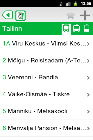 Bussipiletid.ee - screenshot