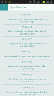 Girl Font for Flipfont Free