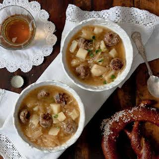 Oktoberfest Soup.