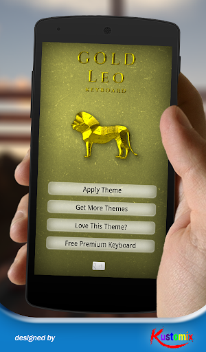 Gold Leo Keyboard
