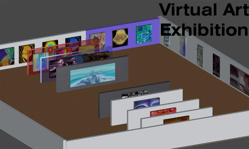 Virtual Art Exhibition - screenshot