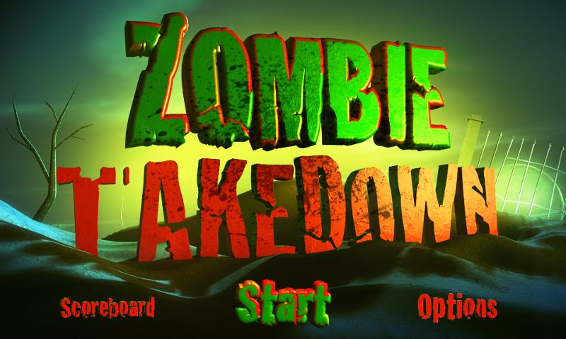 Zombie Takedown - screenshot